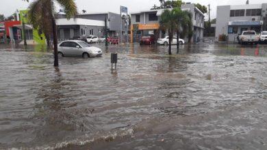 Photo of Se reportan carreteras inundadas en distintos puntos de la Isla