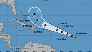 Photo of Impactos de tormenta Jerry en Puerto Rico serían mínimos