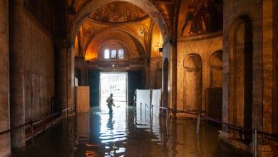 Photo of A punto de romper récord las inundaciones en Venecia