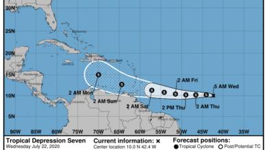 Photo of Se forma la tormenta tropical Gonzalo en su rumbo al Caribe