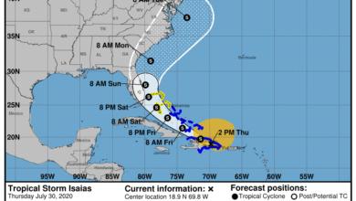 Photo of Boletín 2pm: Descontinúan aviso de tormenta tropical para Puerto Rico