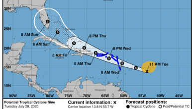 Photo of Emiten aviso de tormenta tropical para Puerto Rico