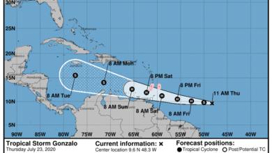 Photo of Tormenta tropical Gonzalo se aleja de Puerto Rico