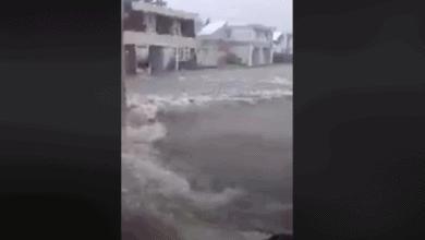 Photo of VIDEO: Se inunda carretera en Boquerón por Tormenta Isaías