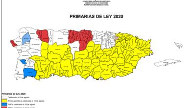 Photo of PPD anuncia centros de votación para primaria del 16 de agosto