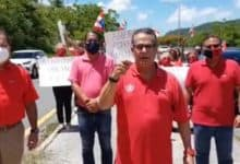 Photo of Populares se manifiestan en Caguas por fallas durante las primarias
