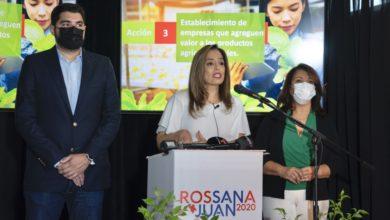 Photo of Rossana López presenta su propuesta de desarrollo agrícola para San Juan