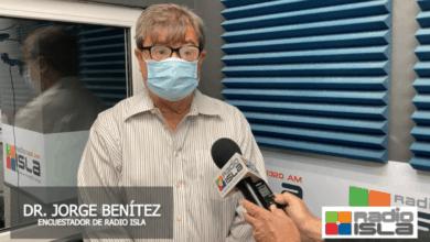 Photo of Resultados de encuesta de Radio Isla toman por sorpresa al Dr. Jorge Benítez
